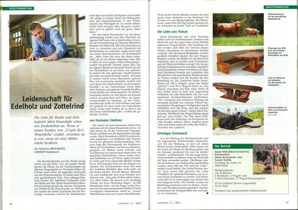 JaKobe Wagyu Landwirt Magazin