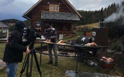Wintergrillen mit LT1 Fernsehen